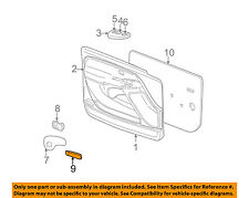 GM OEM Front Door-Courtesy Lamp Right 15021518