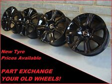 "2742 Genuine 18"" Land Range Rover Evoque Discovery Sport Black 7006 Alloy Wheels"