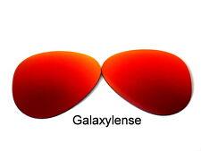 Galaxy Lentes de repuesto para Ray-Ban RB3025 aviador rojo 62mm Polarizados
