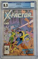 X-Factor #1 Marvel Comics 1986. 1st X-Factor Appearance. New Case. CGC 8.5!