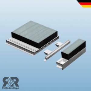 Rollladenkasten Kastendeckel PVC isoliert Abschlussdeckel Deckel Kasten Rolladen