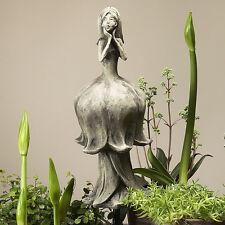 Betonguss Blütentänzerin Maiglöckchen 19-92007  Skulptur Dekoration Deko Garten