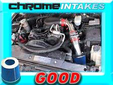 CF RED 96 97 98-05 CHEVY S10//ZR2//ZR5//BLAZER//SONOMA//JIMMY 4.3 V6 COLD AIR INTAKE