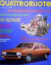 Quattroruote 244 1976 Guida della 131 rally. Ford Taunus 2000 e Peugeot 104 Q94]