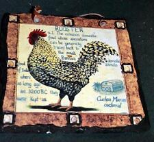 Decorative Slate - ROOSTER - Nice wall hanging
