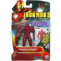 "MARVEL IRON-MAN 2 Comic Series Crimson Dynamo 3.75""ACTION FIGURE"