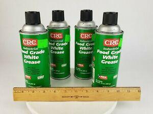 4x CRC Food Grade White Grease 10 oz Spray Can Multipurpose 03038 Ultra Pure