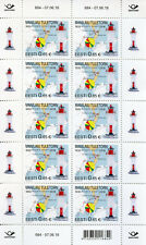 Estonia 2018 MNH Manilaid Lighthouse 10v M/S Lighthouses Architecture Stamps