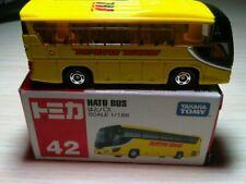 TAKARA Tomy #42   1:156 HATO BUS (Isuzu Gala)  yellow  NRFB
