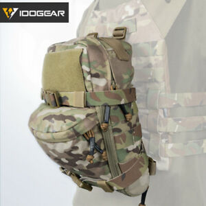 IDOGEAR Hydration Pack Hydration Backpack Assault Mini Bag Molle Pouch Paintball