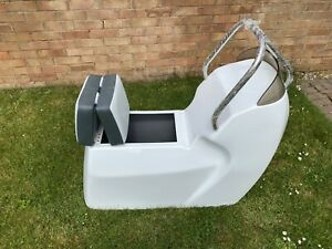 JOCKEY SEAT CONSOLE FOR RIB BOAT SCREEN AND STAINLESS GRAB RAIL - BRAND NEW