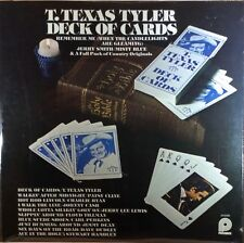 T. Texas Tyler -  Deck of Card - Pickwick Records - 1976 - Vinyl  - SEALED