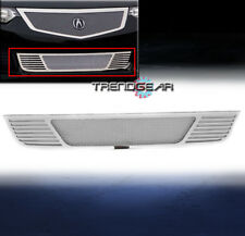 2009-2010 ACURA TSX FRONT BUMPER LOWER STAINLESS STEEL MESH GRILLE CHROME BOLTON