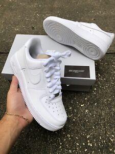 NIKE AIR FORCE 1 07 TRIPLE WHITE 315115 112 Women's Size 8 Brand New