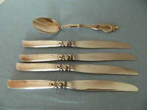 Vintage Knives COMMUNITY Super Stainless Sheffield Spoon Mazellep Zinc Silver Pl