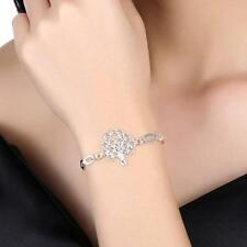 Wholesale Women's 925 Sterling Silver Filled Tree of Life Charm Bracelet Chain