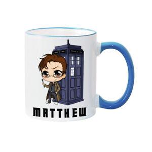 Dr Who inspired christmas Mug personalised