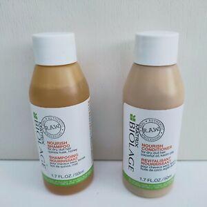 Biolage Matrix R.A.W Nourish Shampoo & Conditioner Set, 50mlx2, Brand New!!