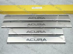 Door sill lining for ACURA MDX (YD2) 2006—2013 Chrome Scuff Plate Cover