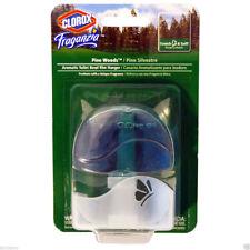 Clorox Fraganzia Pine Wood Aromatic Toilet Bowl Cleaning Rim Hanger 1.85 Oz.