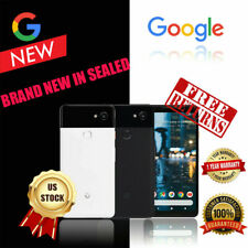 Black Google Edition Pixel 2 XL 128gb Factory Unlocked Smartphone With Extras