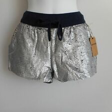 New $138 True Religion Heavily Seguined Pull On Shorts Size XS/TP