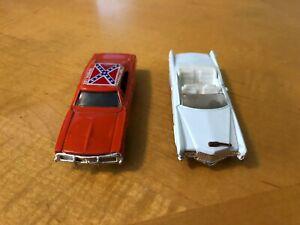 DUKES OF HAZZARD General Lee & Boss Hogg Ertl Cars 1981
