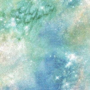 "Magical Galaxy ""Airglow Sky Glitter""-3 Wishes-BTY"