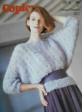 1bce439ec COPLEY Knitting Pattern 781-Ladies Mohair Drop Stitch Sweater 30