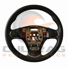 2005-2013 C6 Corvette Genuine GM Leather Manual Steering Wheel Black Stitching
