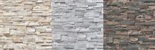 3D Beige Grey Granite Slate Stone Wallpaper Sandstone Brick Effect Textured
