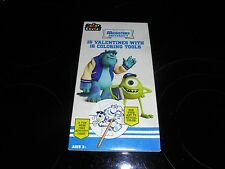 Disney Pixar Monsters University 16 Valentine'S Day With 16 Coloring Tools~New!