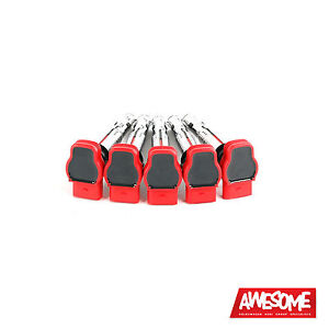 OEM AUDI R8 RED COIL PACK SET AUDI RS3, TTRS 2.5TFSI ES2075239