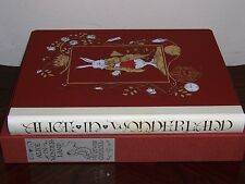 Folio Society ALICE IN WONDERLAND Limited Ed. - Lewis Carroll & Charles Sandwyk