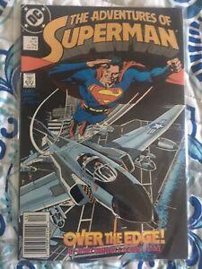 ADVENTURES OF SUPERMAN 447 Dc Comics Vf+