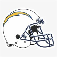 San Diego Chargers #2 NFL Logo Die Cut Vinyl Decal Buy 1 Get 2 FREE