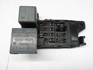Daihatsu HiJet Van (fits Piaggio Porter) - Fuse board with attached relays