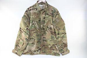 USGI Scorpion OCP W2 Multicam Aircrew Combat Coat Top Jacket Size Large Regular
