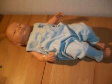 Puppe Berjusa Junge ca. 52 cm Groß Baby Neugeboren