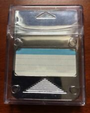 Sony Playstation 1 / PS1 Silver Memory Card.