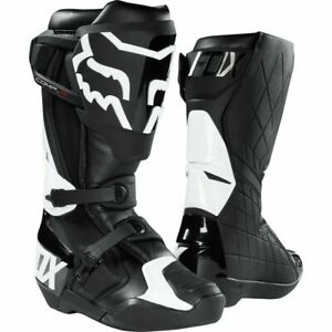Fox Racing Comp R Motocross Boots - Black/White, All Sizes