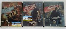 THE BOURNE IDENTITY SUPREMACY ULTIMATUM 3 SEALED STEELBOOKS LTD ED OOP BLURAY