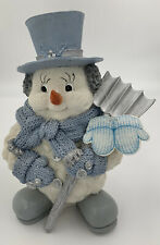 Snow Buddies Collectibles Large Snowman 'Off To Work'