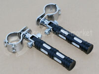 """32mm 1.25"""" Highway Foot Pegs Pedals For Harley Touring Road King Street Glide"""