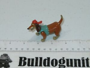 1996 Itchy Dog Figure Toy All Dogs Go To Heaven Subway Kids Meal Dachshund