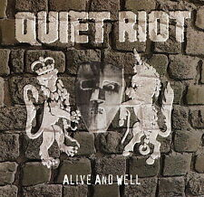 CD NEUF et scellé - QUIET RIOT - ALIVE AND WELL -C16