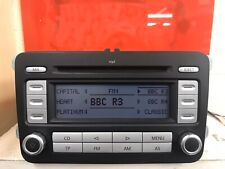 Vw Volkswagen Rcd300 Mp3 Double Din Car Radio CD Player Stereo Head Unit Grundig