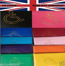 Leather Disabled Badge Holder Wallet Parking Blue Disability Cover