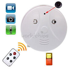 Mini SPY Hidden Camera Smoke Detector Motion Detection Video Recorder DVR HD Cam