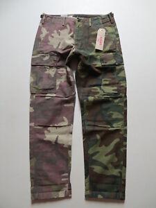 Levis Herren Cargo Jeans Hose, W 36 /L 30, camouflage, NEU ! robuste Cargohose !